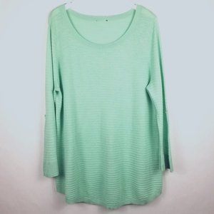 Eileen Fisher Woman 100% Cotton Knit Pullover - 1X